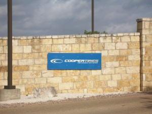 Cooper Tires sign