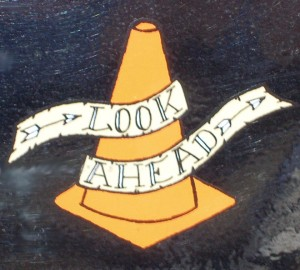 Look Ahead cone/pylon