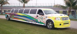 Racing Limo Pickup Truck