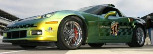 Flex Fuel Corvette Pace Car