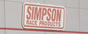 Simpson Race Products building sign