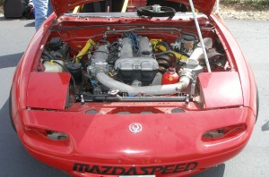 Engine bay detail