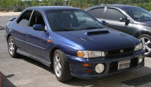Travis\' Subaru 2.5 RS - front view