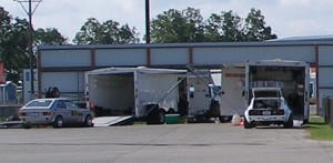 Tom\'s trailer setup is on the right