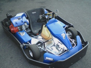 Wounded Warrier kart - front