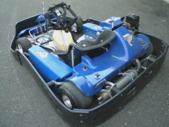 Wounded Warrier kart - rear