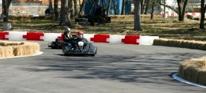 First track shot at Alamo Karts