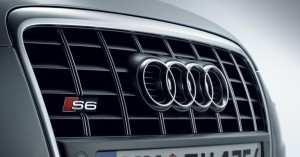 Audi A6 4-ring grill