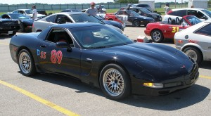 Carolyn\'s Vette - ready for Nationals