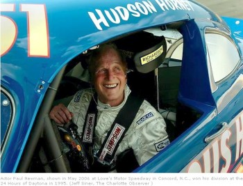 Paul Newman, last competing in 2006!