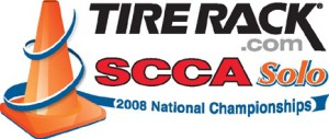 2008 Tire Rack SCCA Solo National Championships correct logo