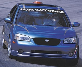Nice looking blue Maxima PPG Champ Car Pace Car