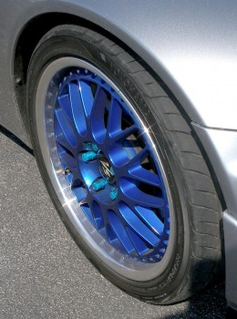 Blue wheel passion