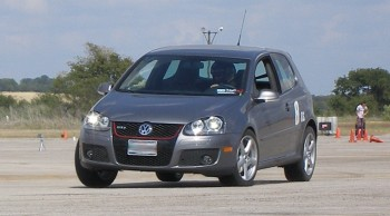 Paalo displaying the driving dynamics of his GTI