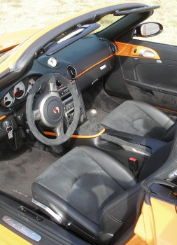 Interior detail of Alcantara