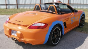 Porsche Boxster S Limited Edition rear quarter view