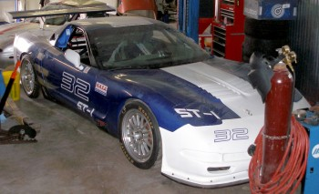 Association Auto  National Racing Racing  on Brady Has A Corvette Z06   32   A St 1 Car With Nasa    Last Year He