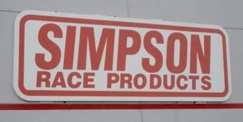 Simpson Race Products signage