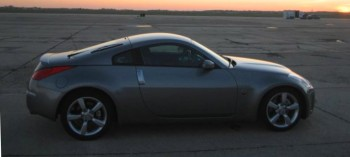 A new autocross day dawning on Rick's 2007 Nissan 350Z...
