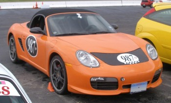 Randy's Limited Edition Boxster S resting in the H2R paddock