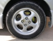 BFGoodrich Traction T/A tires on stock alloy rims
