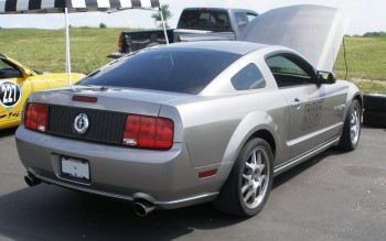 This Mustang color is purposeful, showing that it means business!