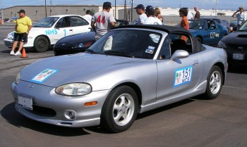 On the autocross grid