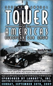 2nd Annual Tower of the Americas European Car Show