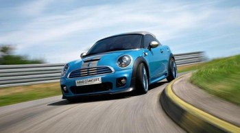 Mini Performance Coupe - action shot