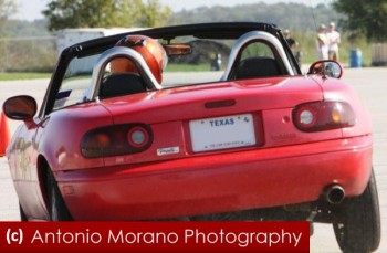Copyright Tony Morano Photography - low res edited for Racing Ready - Ben jammin' his Miata