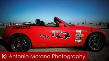 Copyright Tony Morano Photography - low res edited for Racing Ready - Dan P's Hot Miata on Grid