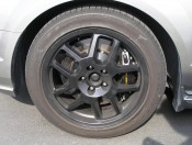 "Here's a close-up of those 2008 Mustang GT newly painted 18"" alloy wheels..."