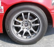 "Dry track tire/wheel combo - Toyo Proxes RA1/15"" alloy wheel"