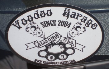 VOODOO Garage - Clothing Co. Another related business of John's