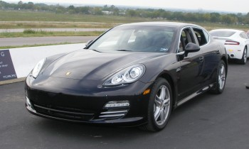 2010 Porsche Panamera first impression, trackside at Harris Hill Road