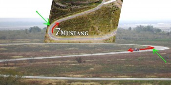 The secret of Mustang Corner at Harris Hill Road explained!