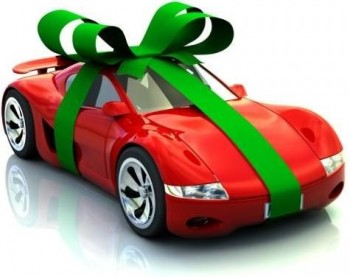 Sports Car present - all wrapped up & ready to go!