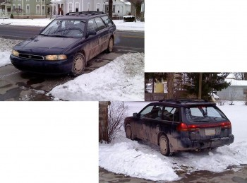 My brother's available-AWD Subaru...good for a cross mountain treck!