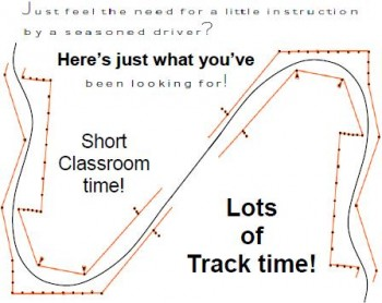 Short Classroom time - Lots of Track time!