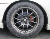 Hankook Ventus R-S3 tires mounted on 949 Racing wheels...
