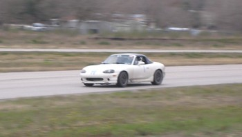 Colin on track @ speed !