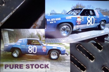 Circa 1980 Oldmobile Cutlass Dirt Racer - Texas style!