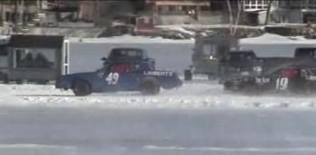 NEIRA - Ice Racing, on the backstretch