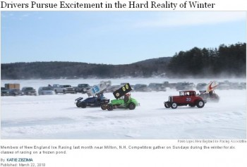 NEIRA - Racing Excitement in the Harsh NH Winter