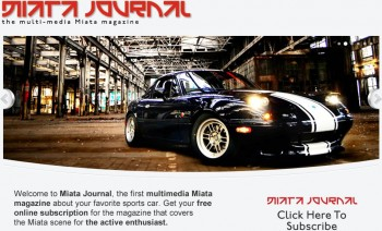 Miata Journal 'Cover'