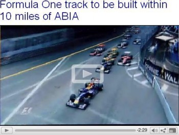 Formula One track to be built within 10 miles of ABIA