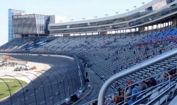 Texas Motor Speedway, thoughtfully designed grandstands...