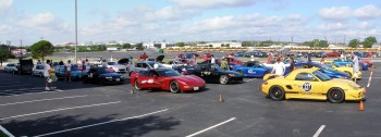 2010 SASCA AutoX 1st morning heat grid, everybody getting ready!