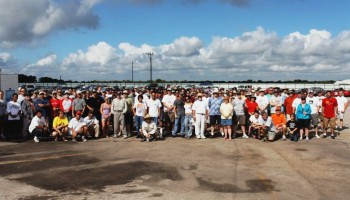 A great group of autocross competitors, willing to spend the day in the heat to compete!