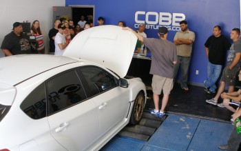 Discussing COBB Tuning's 2-axle, 4 wheel dynamometer